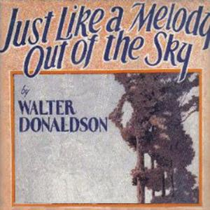 Jay Wilbur Just Like A Melody Out Of The Sky cover art