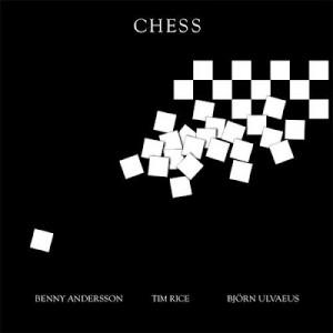 Andersson and Ulvaeus Chess cover art