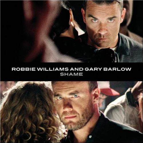 Robbie Williams & Gary Barlow Shame cover art