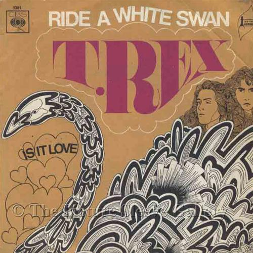 T. Rex Ride A White Swan cover art