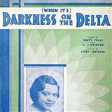 (When Its) Darkness On The Delta Sheet Music