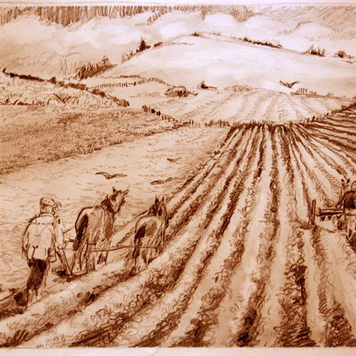 Johann Schulz We Plough The Fields And Scatter cover art
