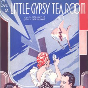 Edgar Leslie In A Little Gypsy Tea Room cover art