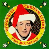 Wonderful Christmastime sheet music by Paul McCartney