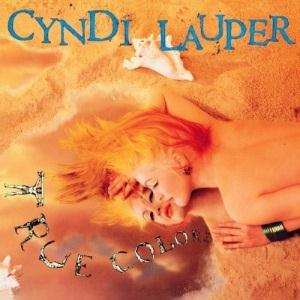 Cyndi Lauper True Colours cover art