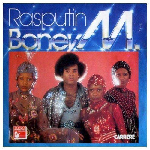 Boney M Rasputin cover art