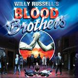 Shoes Upon The Table (from Blood Brothers) sheet music by Willy Russell