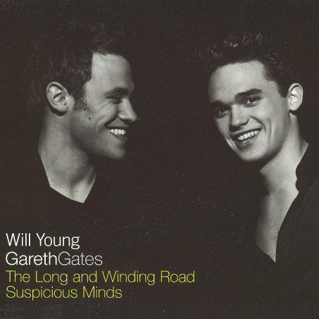 Will Young & Gareth Gates The Long And Winding Road cover art