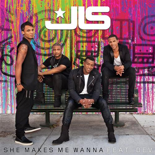 JLS Ft. Dev She Makes Me Wanna cover art