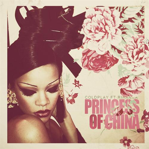 Coldplay Princess Of China (feat. Rihanna) cover art