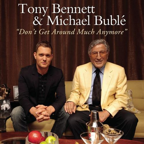 Tony Bennett & Michael Buble Don't Get Around Much Anymore cover art