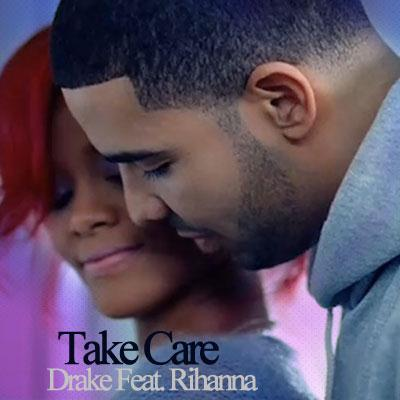 Drake Take Care (feat. Rihanna) cover art