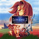 We Are One (from The Lion King II: Simba's Pride) sheet music by Cam Clarke and Charity Sanoy