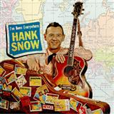 I've Been Everywhere sheet music by Hank Snow