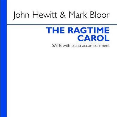 John Hewitt The Ragtime Carol cover art