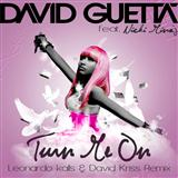 Turn Me On (feat. Nicki Minaj) sheet music by David Guetta