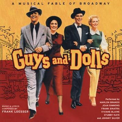 David Martin Here I Go Again (from Guys And Dolls) cover art