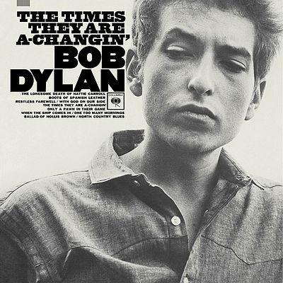 Bob Dylan The Times They Are A-Changin' cover art