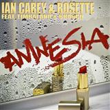Amnesia (feat. Timbaland and Brasco) sheet music by Ian Carey & Rosette