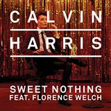 Sweet Nothing (feat. Florence Welch) sheet music by Calvin Harris