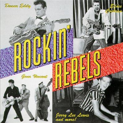 The Rockin Rebels Wild Weekend cover art