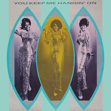 The Supremes You Keep Me Hangin' On cover art