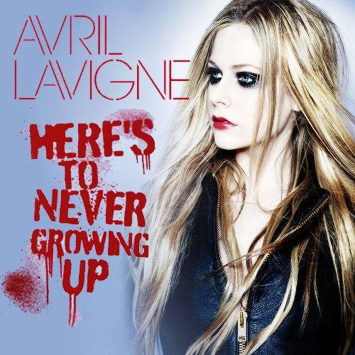 Avril Lavigne Here's To Never Growing Up cover art