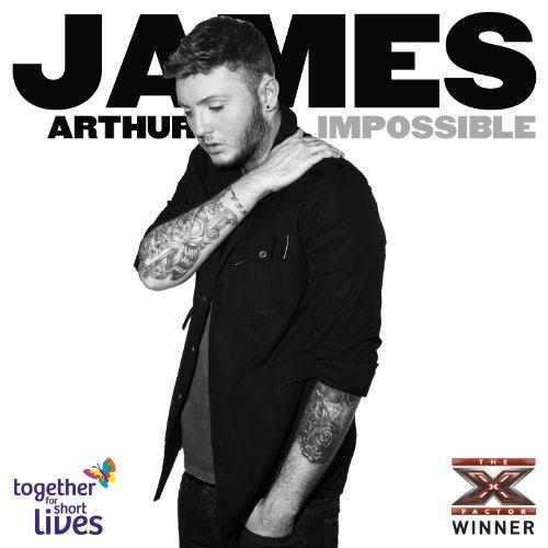 James Arthur Impossible cover art