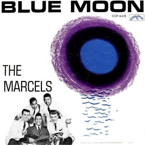 The Marcels Blue Moon cover art