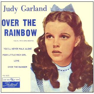 Judy Garland Over The Rainbow (from 'The Wizard Of Oz') cover art