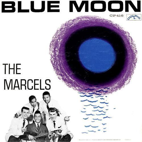 The Marcels Blue Moon (arr. Simon Foxley) cover art