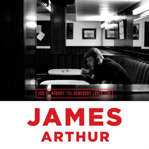James Arthur You're Nobody 'Til Somebody Loves You cover art