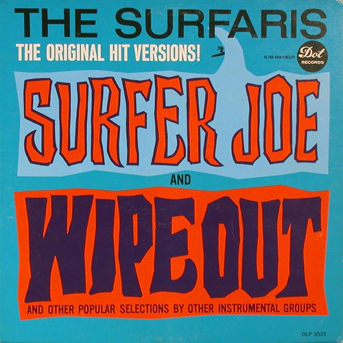 The Surfaris Wipe Out cover art