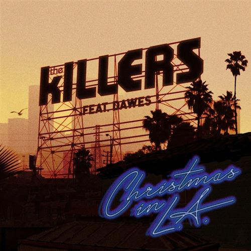 The Killers Christmas In L.A. (feat. Dawes) cover art