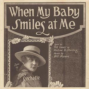 Billy Munro When My Baby Smiles At Me cover art