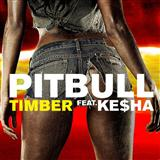 Timber (feat. Ke$ha) sheet music by Pitbull