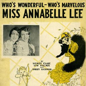 Sidney Clare Miss Annabelle Lee (Who's Wonderful, Who's Marvellous?) cover art