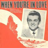 When You're In Love sheet music by Harold Fields