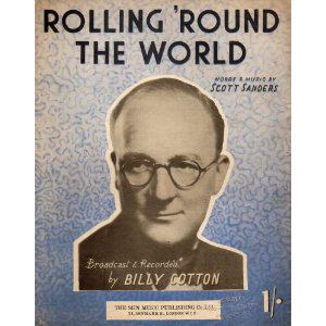 Scott Sanders Rolling Round The World cover art