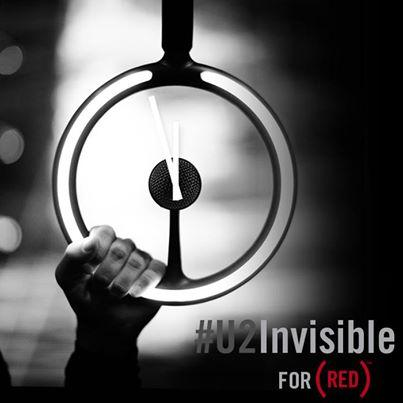 U2 Invisible cover art
