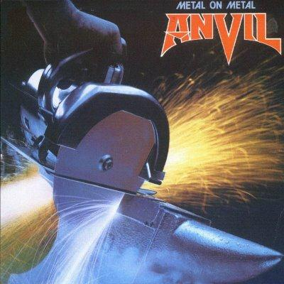 Anvil Metal On Metal cover art