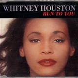 Run To You sheet music by Whitney Houston