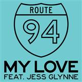 My Love (feat. Jess Glynne) sheet music by Route 94