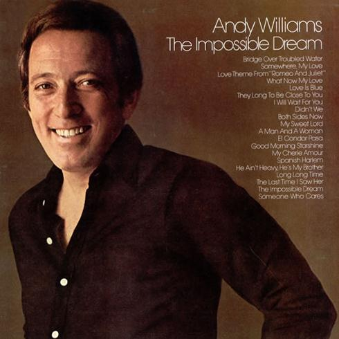 Andy Williams The Impossible Dream (from Man Of La Mancha) cover art