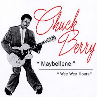 Chuck Berry Maybellene cover art