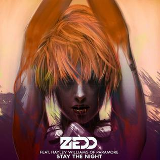 Zedd Stay The Night (feat. Hayley Williams) cover art