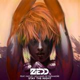 Stay The Night (feat. Hayley Williams) sheet music by Zedd
