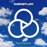 Never Say Never sheet music by Basement Jaxx