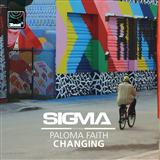 Changing (feat. Paloma Faith) sheet music by Sigma