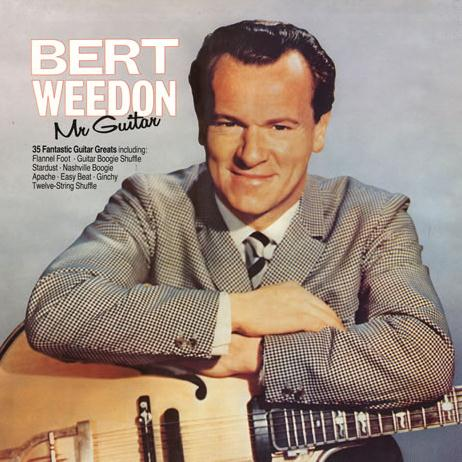 Bert Weedon Mr Guitar cover art